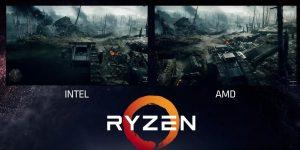 AMD Ryzen Battlefield 1 FPS