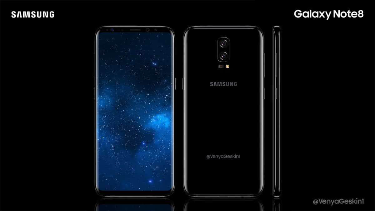 Galaxy note 8 presentazione all 39 unpacked di agosto tech for Nuovo galaxy note 8