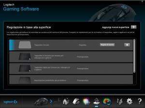 Quarta sezione software Logitech