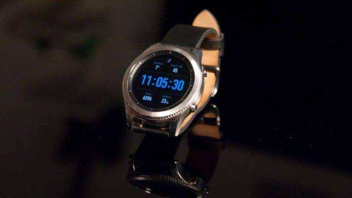 samsung gear s smartwatch IFA