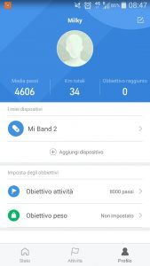 mi band recensione smart wear xiaomi