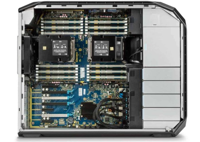 Z8 HP Xeon Workstation CPU