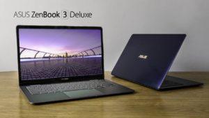 Zenbook 3 Deluxe e Zenbook 13