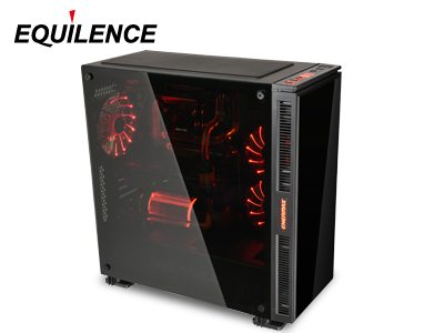 case enermax Equilence tempered glass