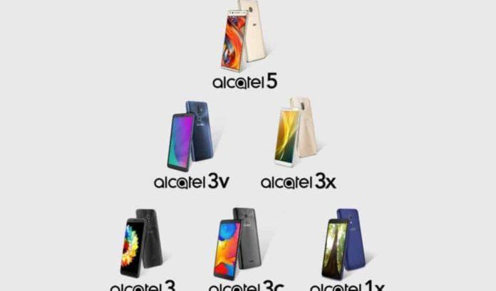 nuovi smartphone Alcatel
