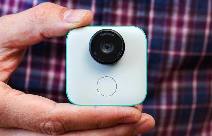 Google clips fotocamera