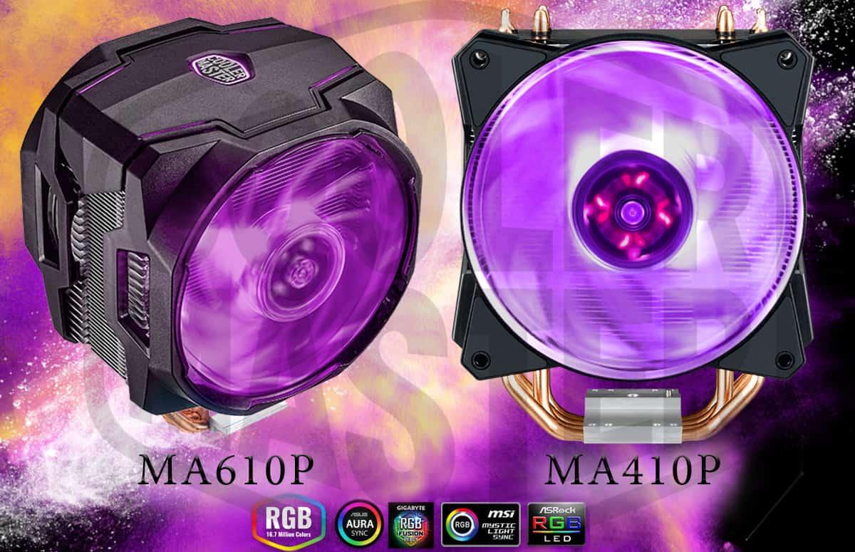 Cooler Master rivela il MasterAir MA410P e MA610P – Tech