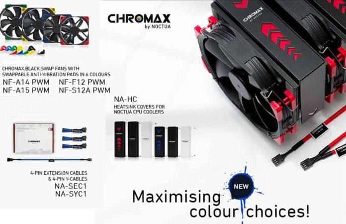 serie Chromax Noctua Chromax chromax.black.swap Noctua modding Noctua heatsink