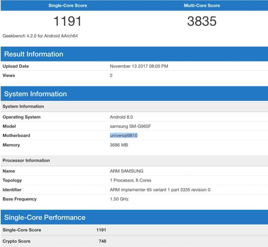 Samsung Galaxy S9 e Galaxy S9+ avranno ancora 4 GB di RAM