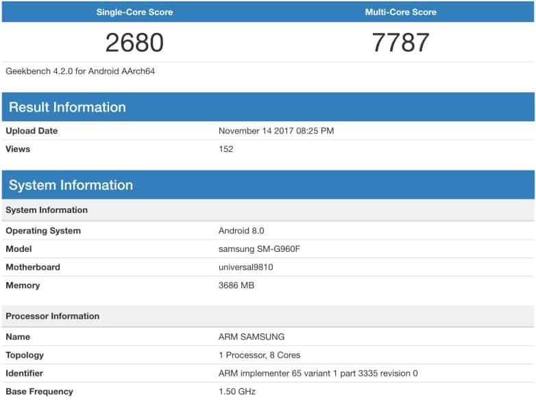 Samsung s9 è più lento degli attuali iPhone
