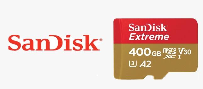 SanDisk UHS-I 400GB