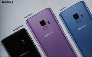 Colori Glaxy S9 e S9+