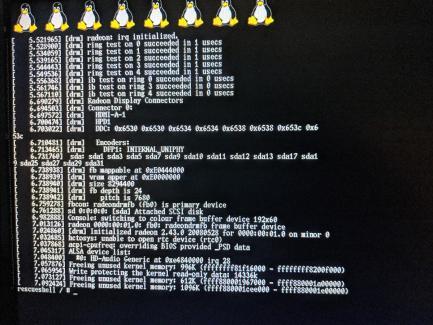 Modifica PS4 rilasciato linux per firmware 4.55