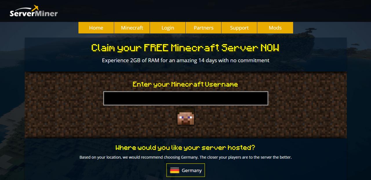 Come creare un Server Minecraft