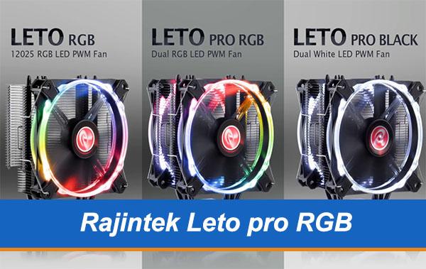 Recensione Raijintek Leto Pro Black