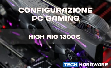 Configurazione PC Gaming 1300 euro