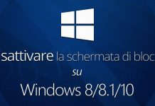 disabilitare la schermata di blocco di Windows