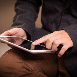 tablet da lavoro